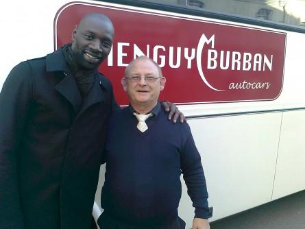 Omar Sy et les autocars Menguy Burban
