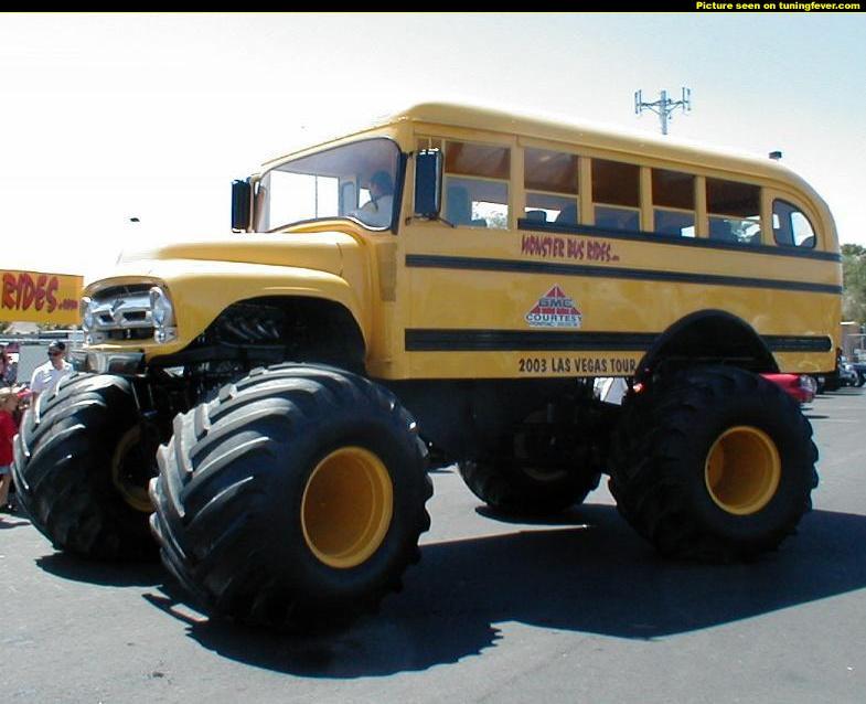Bus tout terrain